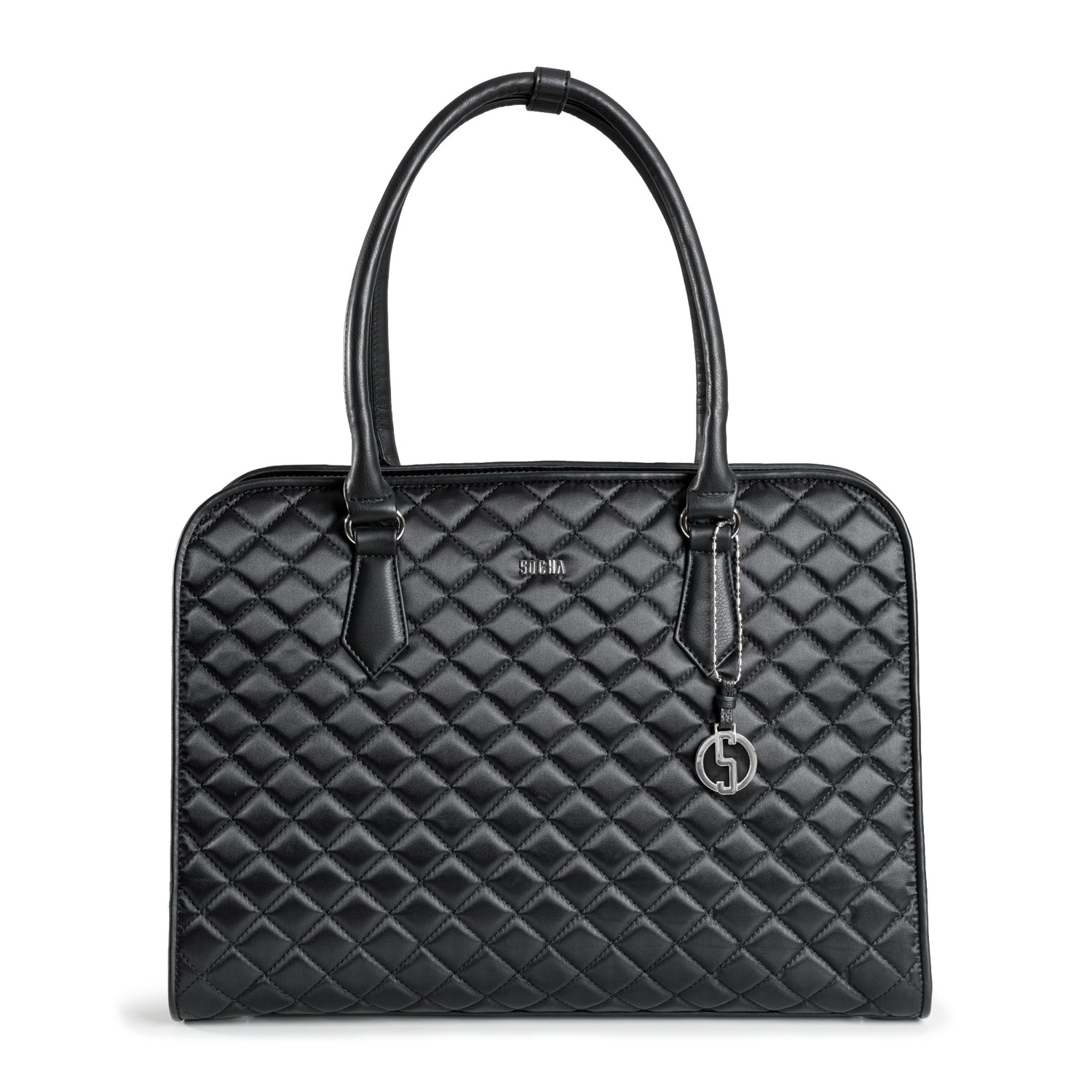 damen laptoptasche black diamond Taschenfront