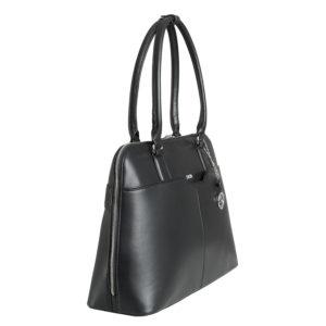 damen businesstasche couture noir mit langem Reißverschluss