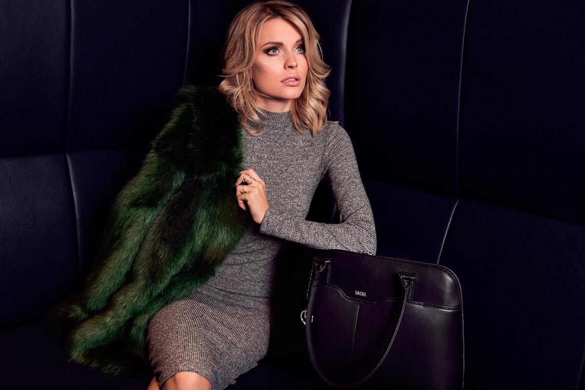 socha Businesstasche Damen couture noir