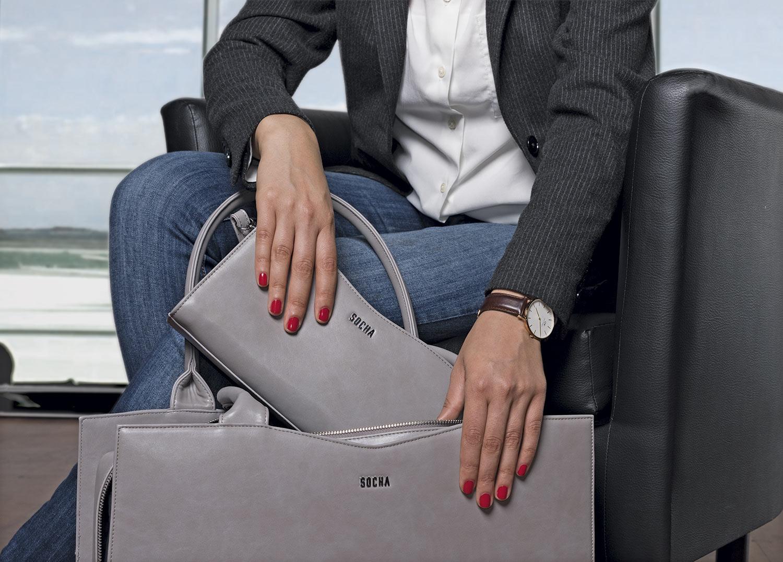 businesstasche damen clutch von socha