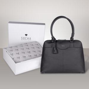 Couture Black in weißer Feinkartonage