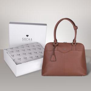 Couture Cognac mit weißer Geschenkbox