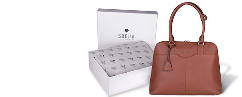 collection of exclusive leather business bags