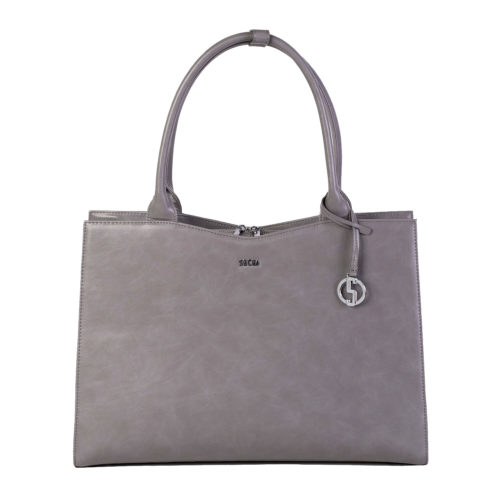 Businesstasche Damen - Modell Straight Line Mud - Designertasche 15.6