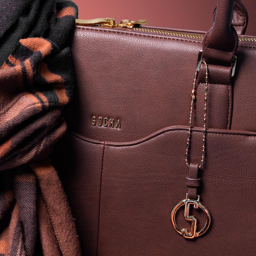 "businesstasche damen couture brun 15.6"""