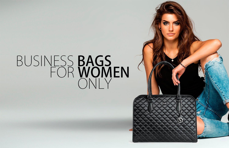 elegante businesstaschen von socha modell black diamond