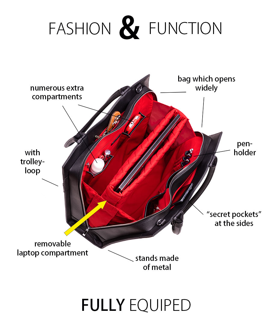 socha business bag fully equiped