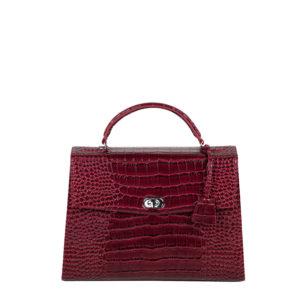 audrey croco burgundy socha businessbag