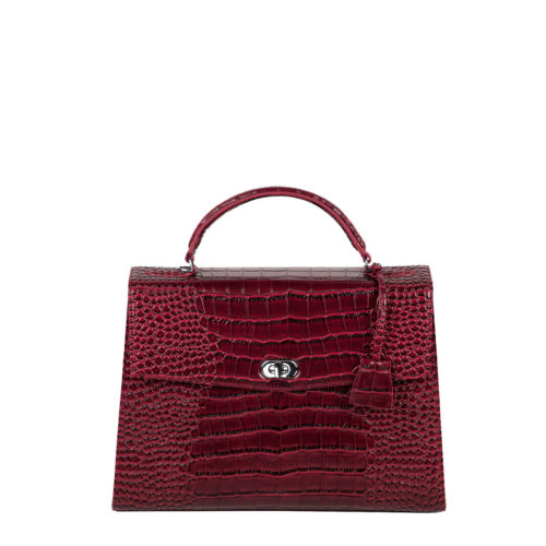 audrey croco burgundy socha businessbag