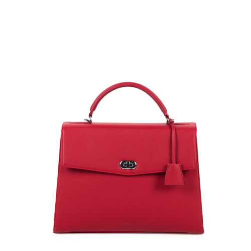 audrey business bag socha cherry red