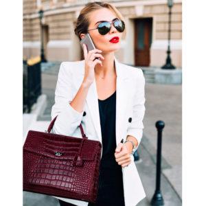 audrey socha businesstasche für damen