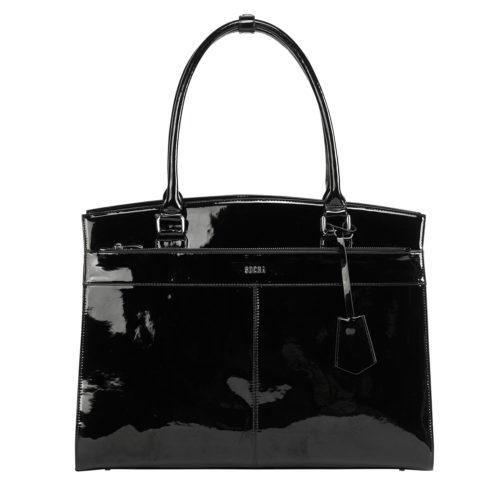 socha elegante businesstasche iconic mirror hermes design hochglanz schwarz mit Komplettasusstattung