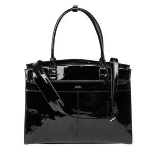 socha elegante businesstasche iconic mirror hochglanz schwarz