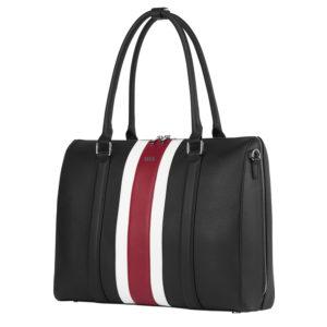 sportliche businesstasche socha 15 zoll schwarz