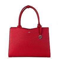 Businesstasche straight line red von socha für damen