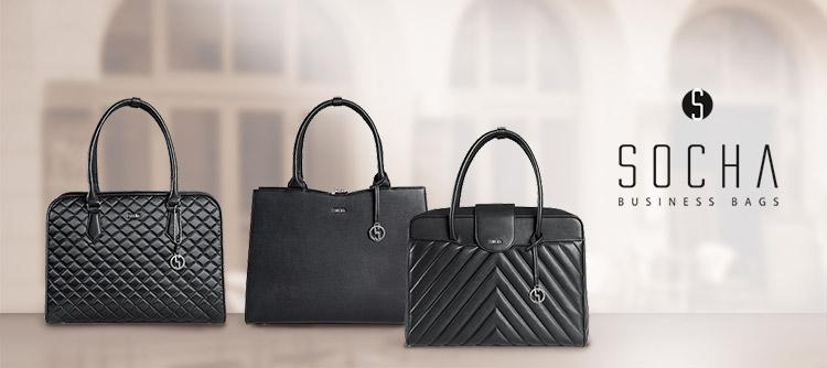 3 Bestseller Socha Businesstaschen für Damen