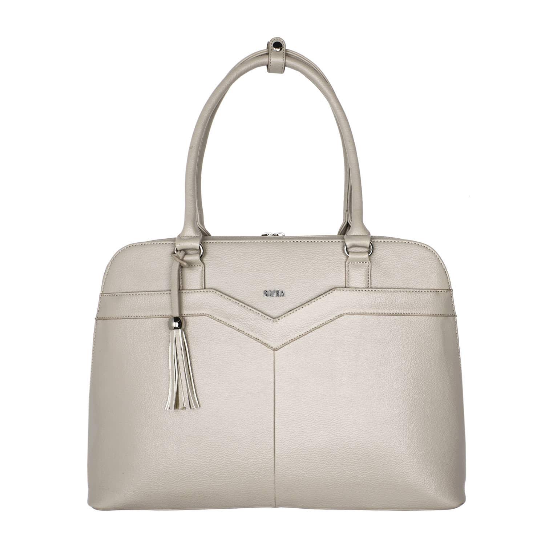 businesstasche socha couture vanilla 15 zoll
